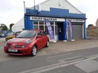 2007 Nissan Micra 1.4 Activ 5DR,,74,000 MILES,FULL SERVICE HISTORY-11 STAMPS!!!