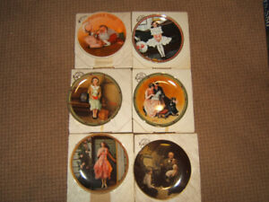 Bradford Exchange NORMAN ROCKWELL selection collector plates