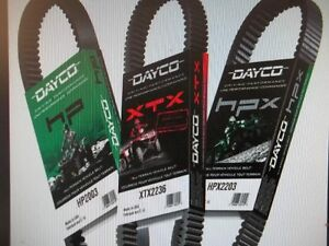 KNAPPS in PRESCOTT has Lowest prices on DAYCO ATV Drive belts !