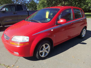 2007 CHEVROLET AVEO HATCHBACK !! 5 SPEED MANUAL !! NEW MVI !!