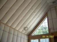 Blown in attic Insulation /roof repairs/wet insulation removing