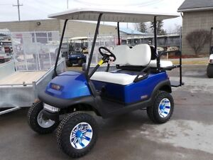 2007 CLUB CAR Precedent Custom Golf Cart - All the Options!