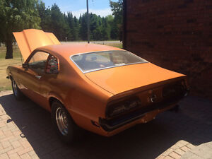 1972 Mercury Comet White 1972 Comet Cocktail Orange