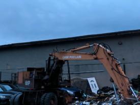 Case poclain excavator rubber duck ,