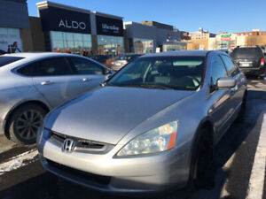 Accord EX-L 2003 Excellent condition Only 160KM