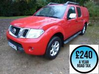 2013 Nissan Navara 2.5dCi 190 Tekna Double Cab 4x4 Pick up Diesel