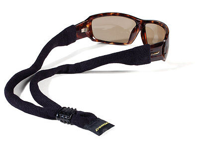 Croakies Suiter XL Black Sunglass Sport Retainer NEW FREE SHIPPING