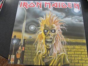 Iron Maiden- S/T Record (sealed)