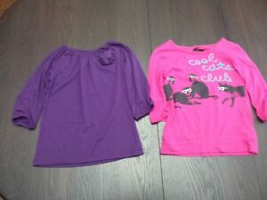 Size 5 - Long sleeved shirts in excellent condition, JOE Fresh b