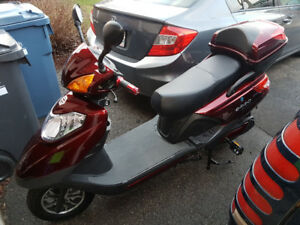 2017 EMMO GT80 80VOLT RED E-SCOOTER MINT CONDITION  $2000