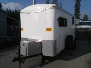 ***Must Sell***Winterized 6x12 trailer converted as a camper