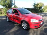 VAUXHALL CORSA SXI 16V TWINPORT 5 Door Low Miles F.S.H, Red, Manual, Petrol, 200