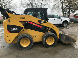 2011 CATERPILLAR SKIDSTEER 262C FULLY LOADED 2 SPEED SKID STEER