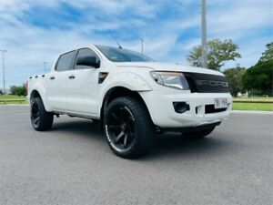 2013 Ford Ranger PX XL 2.2 Hi-Rider (4x2) 6 Speed Automatic Super Cab Chassis