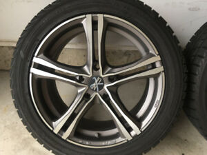 BMW 5 Series winter wheel and tire set