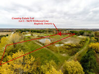 Country Estate Lot 3 Bayfield with Pond