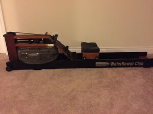 Rowing machine for sale - WaterRower with Monitor