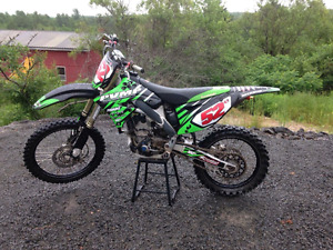 2012 KX 250F tons of extras