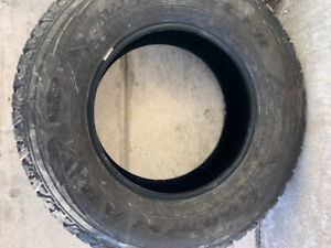 18 inch Goodyear Wrangler Truck tires in great shape 275-70-18