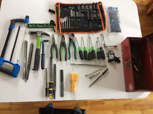 Greenlee and various tools