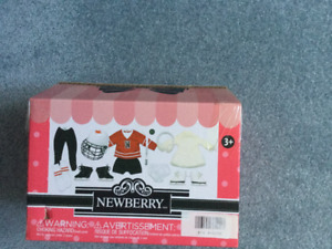 "18"" new Newberry doll accessories"
