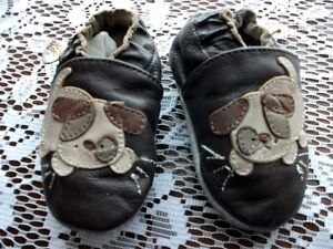 size 0-6 leather Tickle Toes baby shoes -like Robeeze