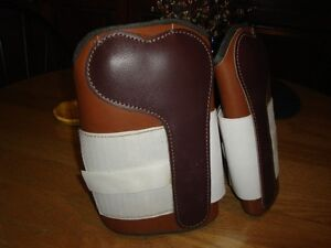 Leather Horse Shin Boots