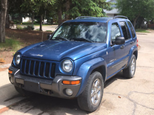 2004 Jeep Liberty Sport 4x4 Rocky Mountain Ed. (REDUCED $3900)