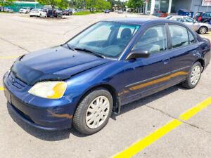 2003 Honda Civic DX-G Sedan