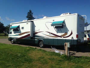 36ft Damon Class A RV - slideouts, great condition, low miles.