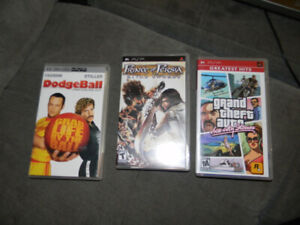 GTA Vice City Stories, Prince of Persia and DodgeBall