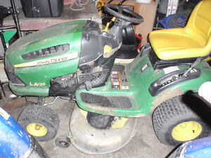 selling a John Deere ride on Mower for parts or repair