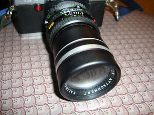 Converter and zoom Scope for Minolta SLR
