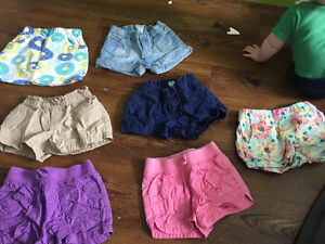 7 pairs of 3t shorts