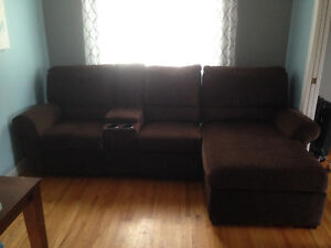 Sofa sectional with recliners St. John's Newfoundland image 1