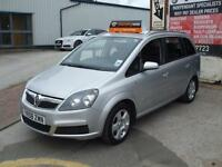 VAUXHALL ZAFIRA 1.9CDTi DIESEL 120ps BREEZE 7 SEATER 6 MONTHS WARRANTY INCLUDED