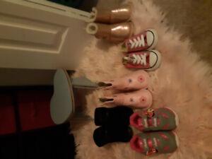 5t Shoe lot 6 pairs