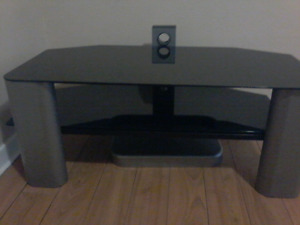 Tv Stand, smoke-free home. Bottom and top piece are glass.