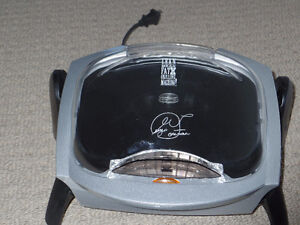 George Foreman Grilling Machine With Bun Warmer-New-$40