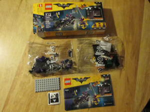 LEGO DC Batman Movie 70902 Catwoman Robin Batgirl Motorcycle Toy