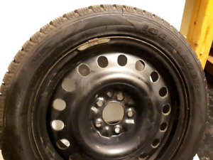 LIKE NEW Sailun Ice Blazer 225/50r17 Studded Tires on 5x115 Rims