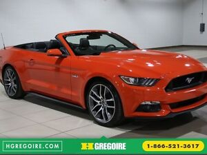"""2015 Ford Mustang CONVERTIBLE GT PREMIUM 6 VITESSESCUIR MAGS 20"""""""