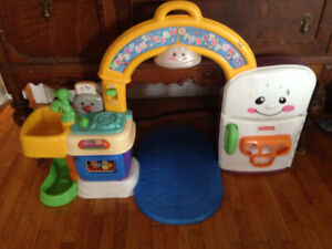 Fisher Price Laugh And Learn 2 Sided Kitchen