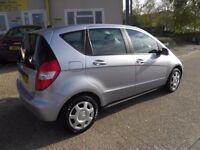 2010/60 Mercedes A180 CDi 5 door manual, Silver, 2 owners, £30 road tax, 60 MPG, CD Player, elec win