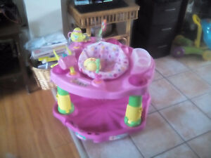 BABY GIRL EXERSAUCER FOR SALE! $20.00 OBO