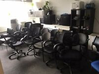 Office chairs, conference chairs for £5 only!