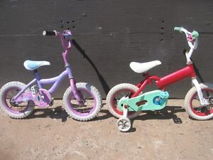 """2 KID'S 12 INCH BIKES """"ONLY"""" $10.00 DOLLARS EACH. [FIRM]"""