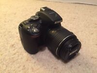 Nikon D5300 DLSR Camera 18-55mm VR II Lens Wifi GPS + Accessories