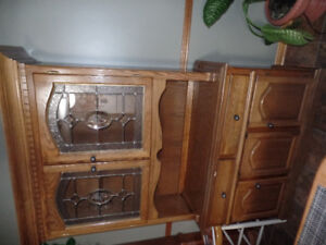 Hutch, china cabinet,display shelf