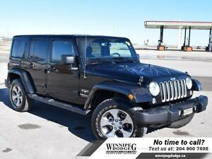 2016 Jeep Wrangler Unlimited Sahara 4x4 w/Navi  Remote Start  4x